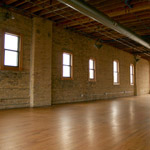 Event Space with Exposed Brick